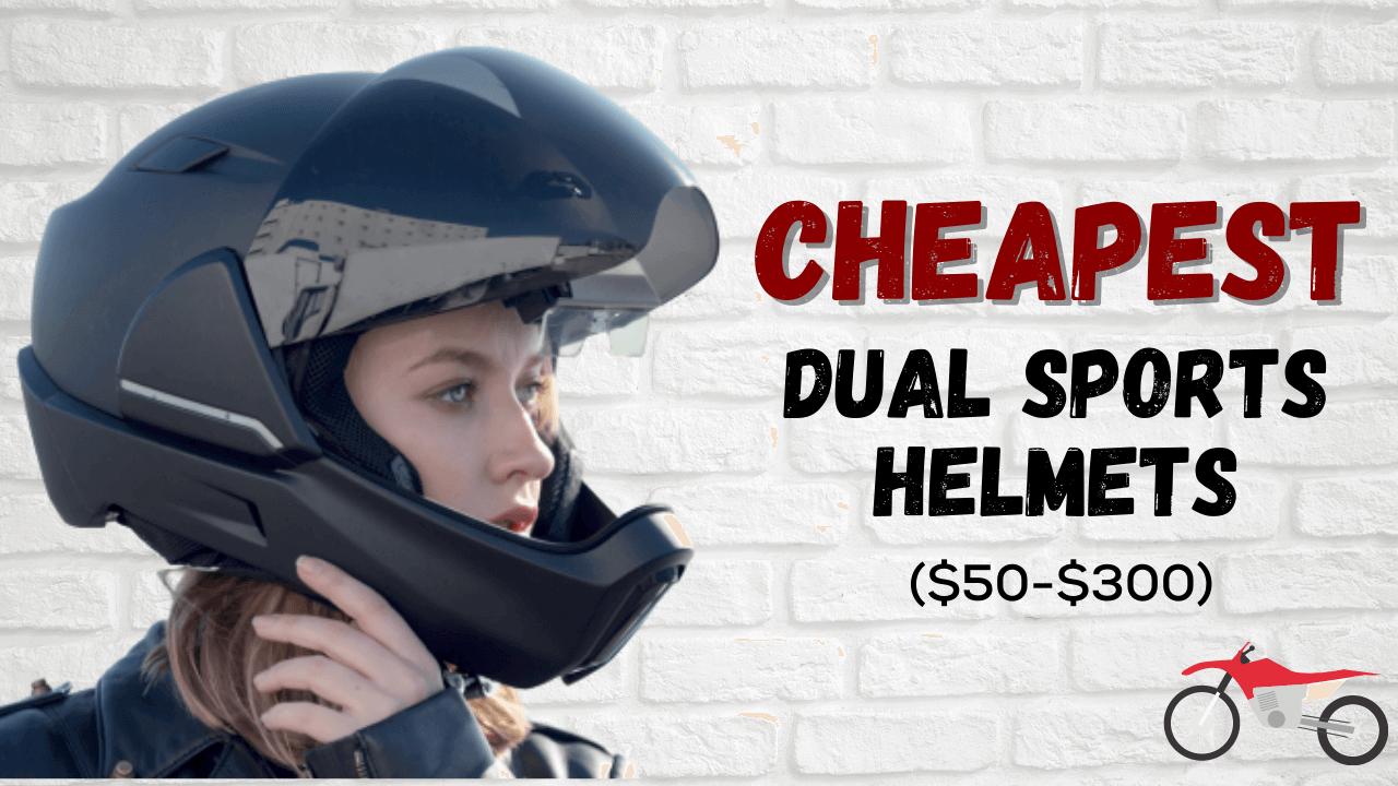 Cheapest Dual Sports Helmet