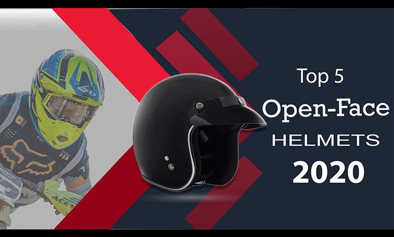 Open-Face Motorcycle Helmets
