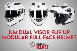 ILM Dual Visor Full Face Helmet